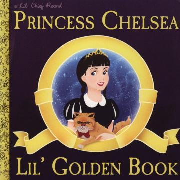 "Albumcover von Princess Chelsea – ""Lil' Golden Book"" (2011)"