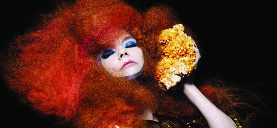 """Foto der isländischen Künstlerin Björk, deren Song  """"The Modern Things"""" Thema im Podcast Zeitgeister ist."""