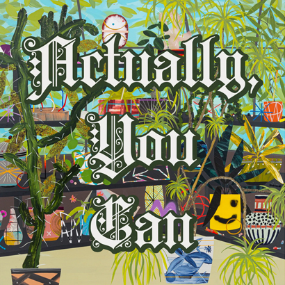 "Albumcover von Deerhoof – ""Actually, You Can"""