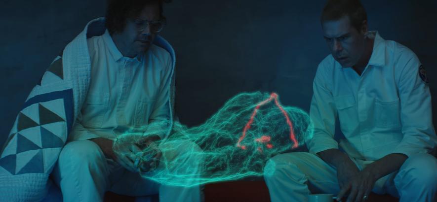 """Filmstill aus dem Musikvideo von Liars – """"From What The Never Was""""."""