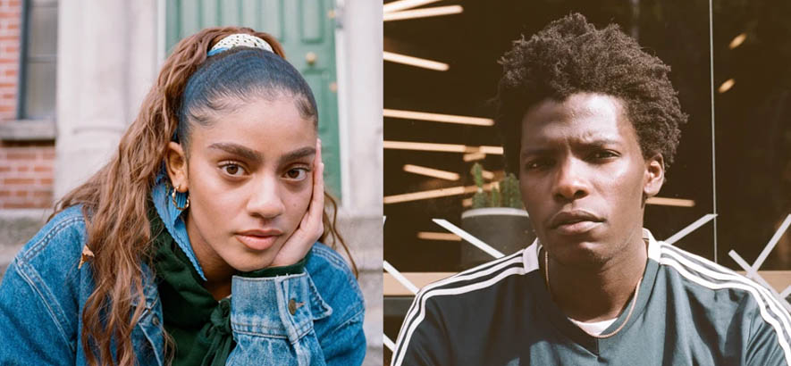 """Fotos von Aby Coulibaly & Monjola, deren R&B-Duett """"Where U At"""" unser Track des Tages ist."""