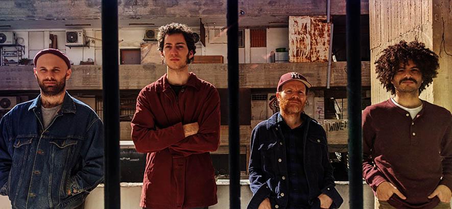 """Pressebild der israelischen Band Sababa 5, deren Song """"Pur"""" heute unser Track des Tages ist."""