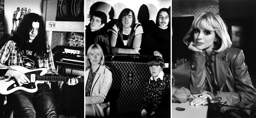 """Fotos von Kurt Vile, The Velvet Underground und St. Vincent, ein paar der Protagonist*innen des neuen Coveralbums """"I"""