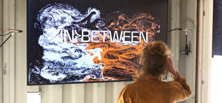 Foto der Ausstellung (IN)BETWEEN