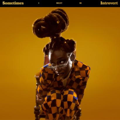 """Bild des Albumcovers von """"Sometimes I Might be Introvert"""" von Little Simz, das unser ByteFM Album der Woche ist."""