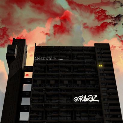 """Artwork der neuen EP von Gorillaz – """"Meanwhile""""."""
