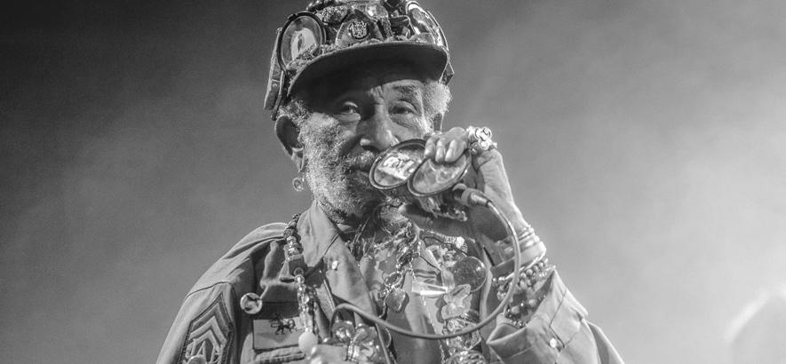 """Bild des jamaikanischen Musikers Lee """"Scratch"""" Perry, der im Alter von 85 Jahren in Jamaika gestorben ist."""