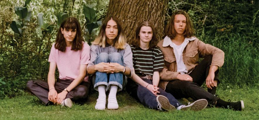 """Pressebild der australischen Band The Lazy Eyes aus Sydney. Ihr Song """"The Island"""" ist heute unser Track des Tages."""
