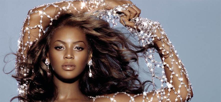 """Beyoncé auf dem Cover ihres Albums """"Dangerously In Love"""" auf dem unser Track des Tages """"Work It Out"""" enthalten ist."""