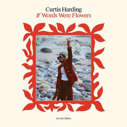 """Album-Cover von Curtis Harding – """"If Words Were Flowers""""."""