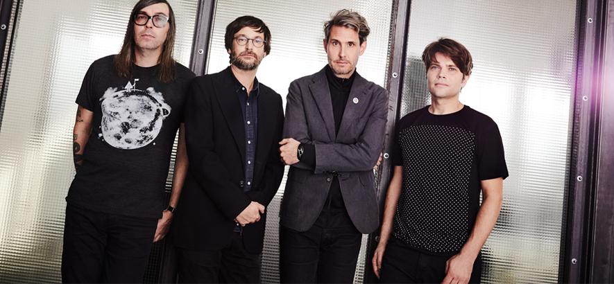 """Pressebild der Band Tocotronic, die mit """"Nie wieder Krieg"""" ein neues Album angekündigt hat."""