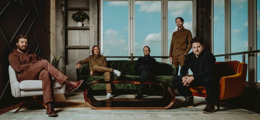 """Pressebild der Band Midlake, die mit """"For The Sake Of Bethel Woods"""" ihr erstes Album seit 2013 angekündigt hat."""
