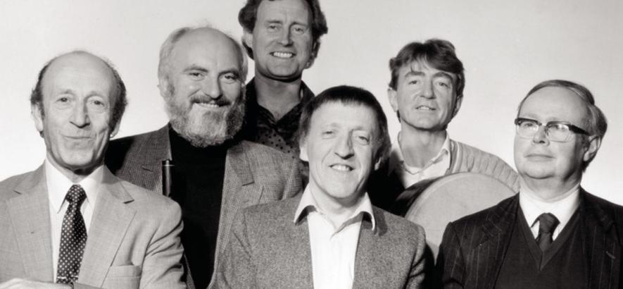 Foto von Paddy Moloney, Band-Leader der irischen Band The Chieftains, der im Alter von 83 Jahren gestorben ist.