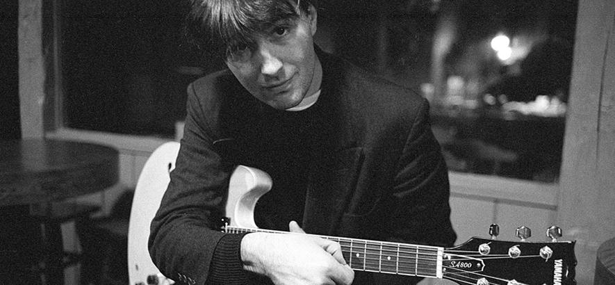 Foto von Pat Fish aka The Jazz Butcher, der im Alter von 64 Jahren gestorben ist.