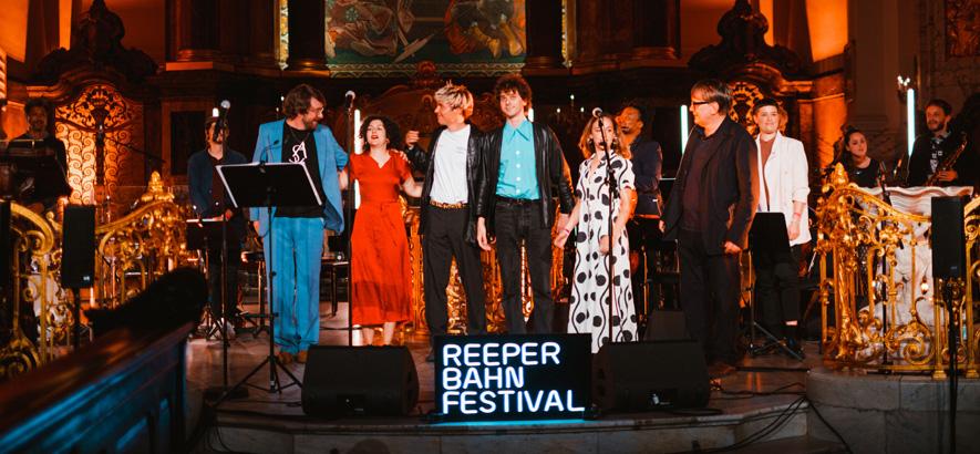 Foto von der Crucchi Gang beim Reeperbahn Festival