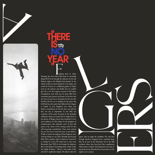 CD-Cover von Algiers – There Is No Year