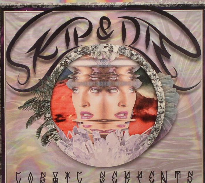 CD-Cover von Skip & Die – Cosmic Serpents