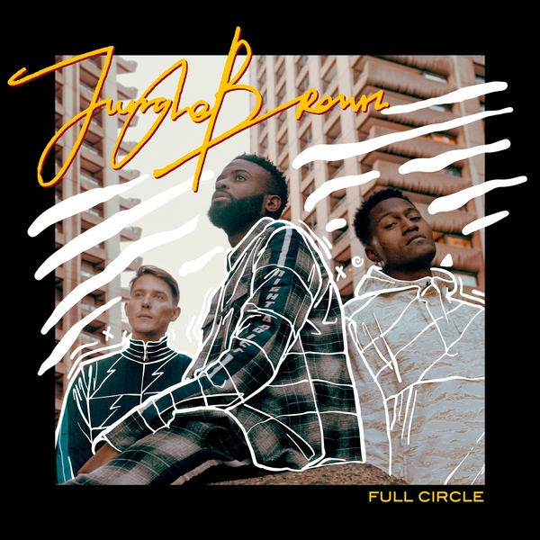 CD-Cover von Jungle Brown – Full Circle