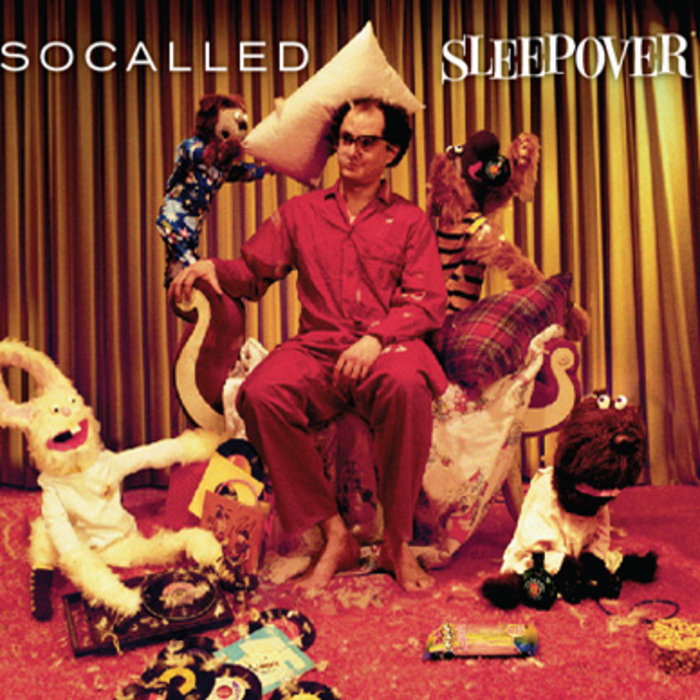 CD-Cover von Socalled – Sleepover