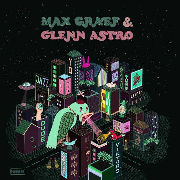 CD-Cover von Max Graef & Glenn Astro – The Yardwork Simulator