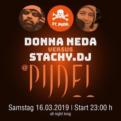 Electric Nightflight - Donna Neda vs. Stachy.DJ - Freeform Beats, Bass & Polish Cutouts Part One