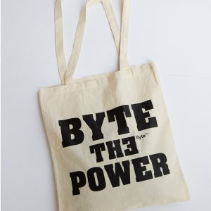 ByteFM Beutel 'Byte the power'