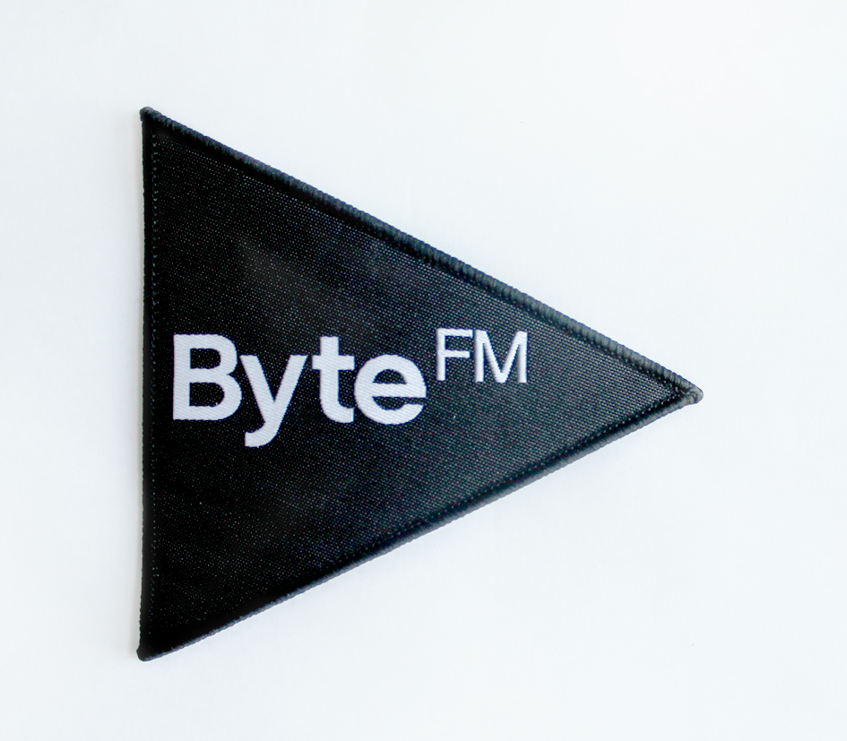 ByteFM Aufnäher
