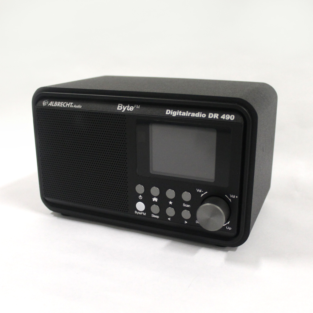 Digitalradio Albrecht DR 490 / ByteFM-Edition